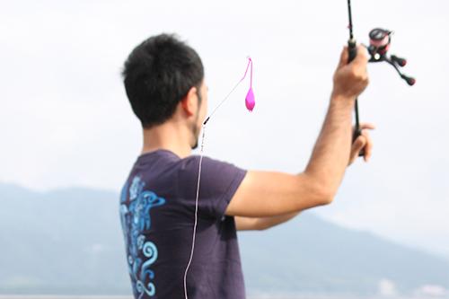 釣り方3.投げる!