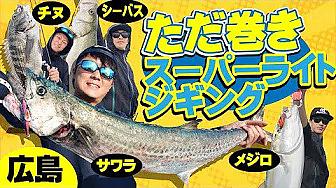 巻くだけで釣れる!ただ巻きスーパーライトジギング|大型回遊魚を高速巻きで狙おう!